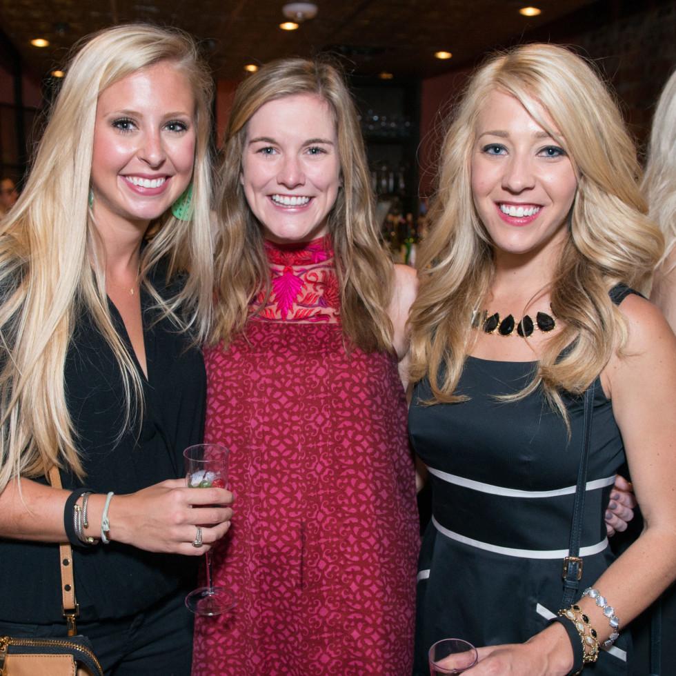 News, CultureMap Social, B&B Butchers, Sept. 2015 Sarah Toups, Kaitlyn Cassani, Jessi New