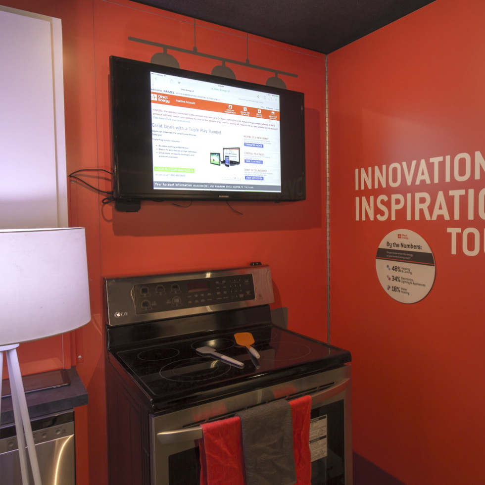 Direct Energy Innovation to Inspiration Tour mobile exhibit