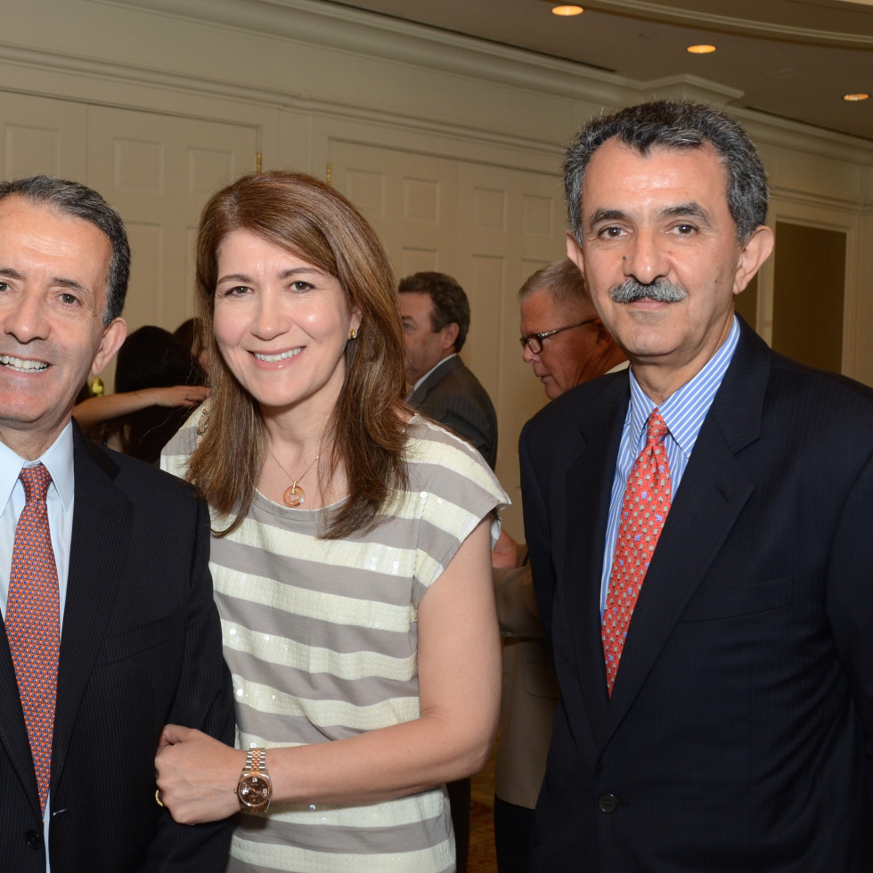 PDAP event Sept 2015 Zin & Nora Zmati, Chair Ali Saberioon