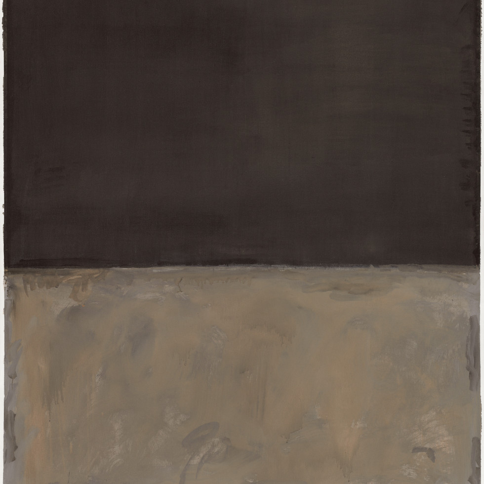 Mark Rothko Retrospective: Untitled, 1969
