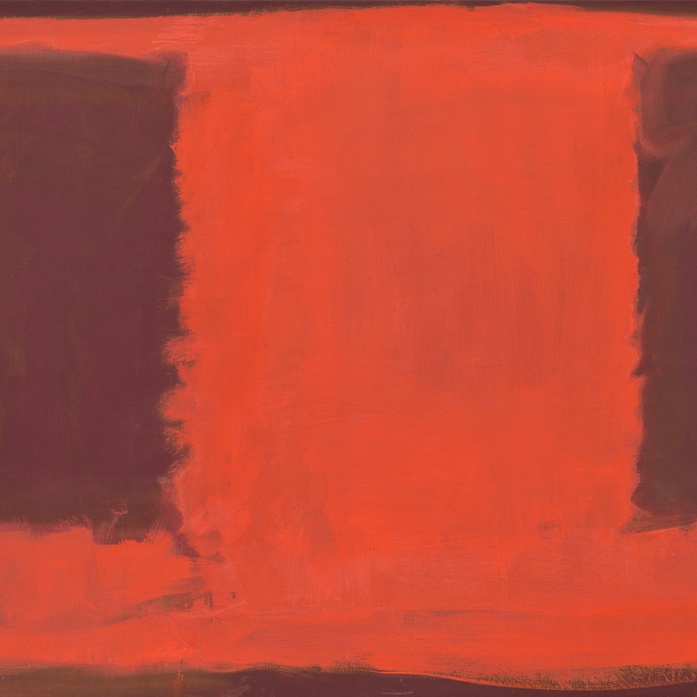 Mark Rothko Retrospective: Untitled (Seagram Mural sketch)