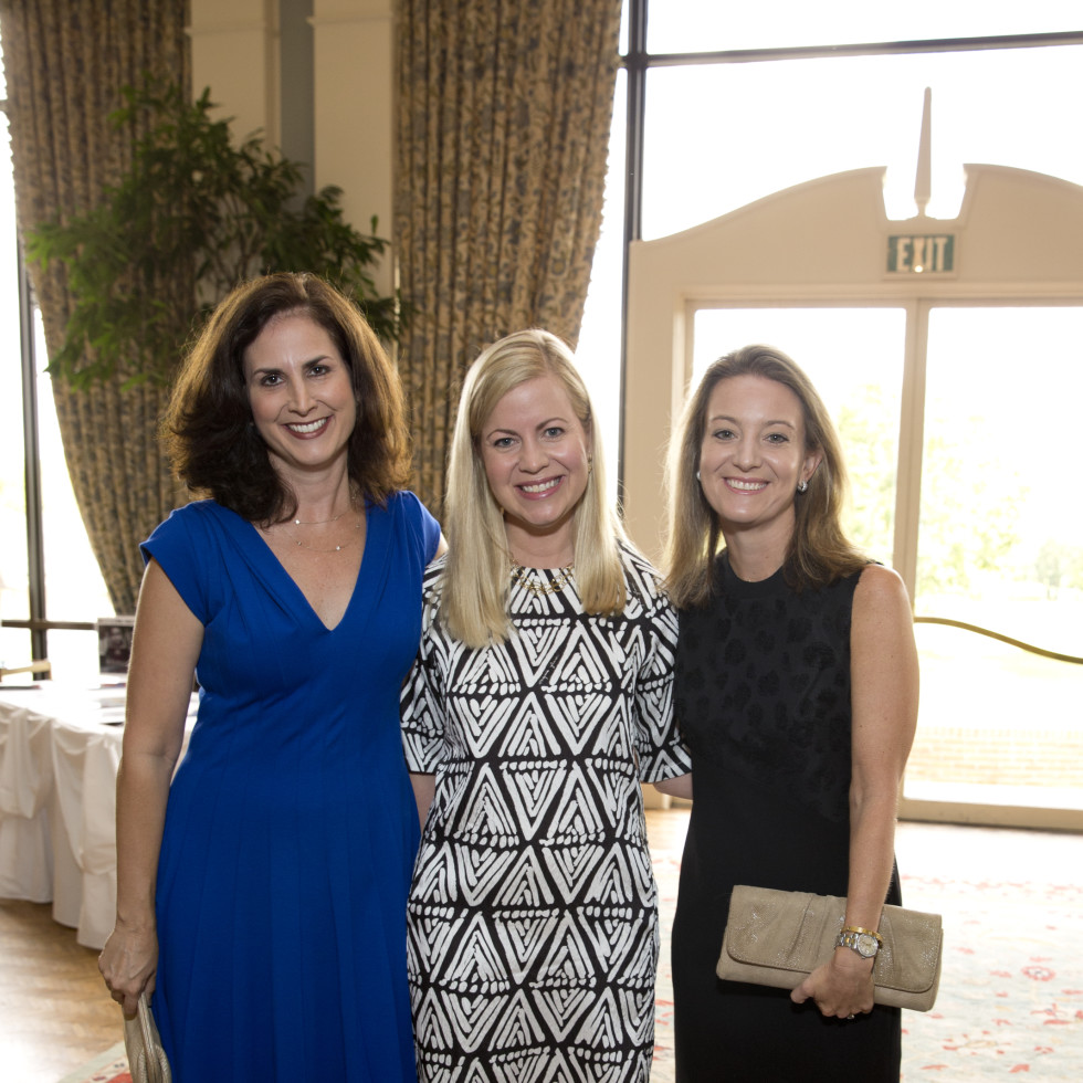 News, Shelby, Small Steps luncheon, Sept. 2015, Tracy McCleary, Susan Heldebrand, and Kendle Dardi