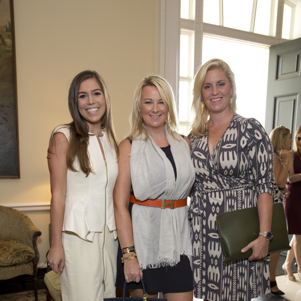 News, Shelby, Small Steps luncheon, Sept. 2015, Katya Deahl, Libby Cagle, Lauren Taft