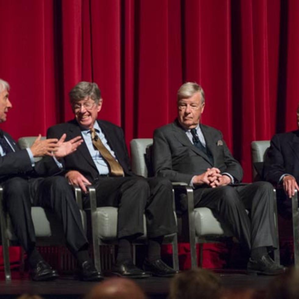 News, Shelby, Hines Architecture Forum, Sept. 2015, Gene Kohn, Henry Cobb, John Burgee, Gerald Hines