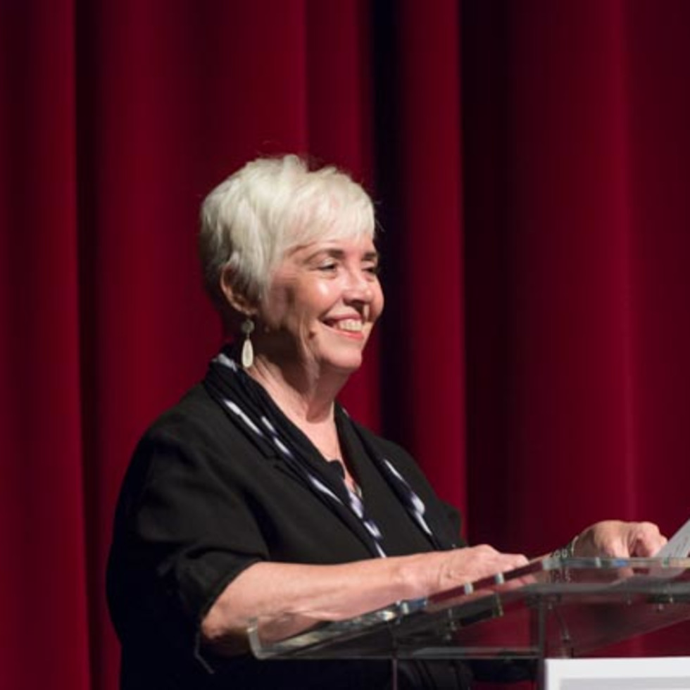 News, Shelby, Hines Architecture Forum, Sept. 2015, Dean Patricia Oliver