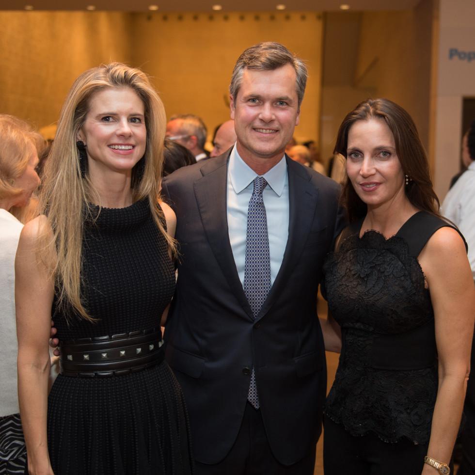 News, Shelby, MFAH Rothko opening, Sept. 2015 Blakely and Trey Griggs; Aliyya Stude