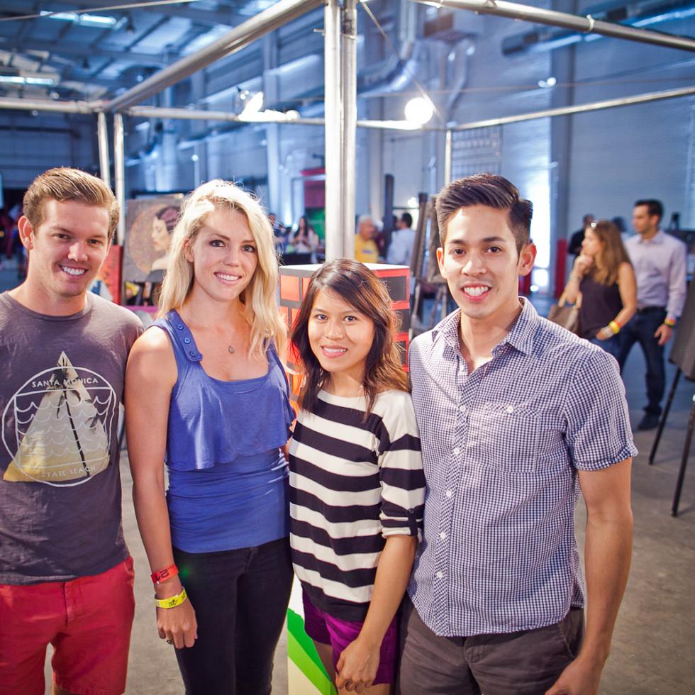 News, Joel, Mini Murals, Sept. 2015, Cody Heath, Katie Nolet, Kathy Nguyen, Tony Huynh