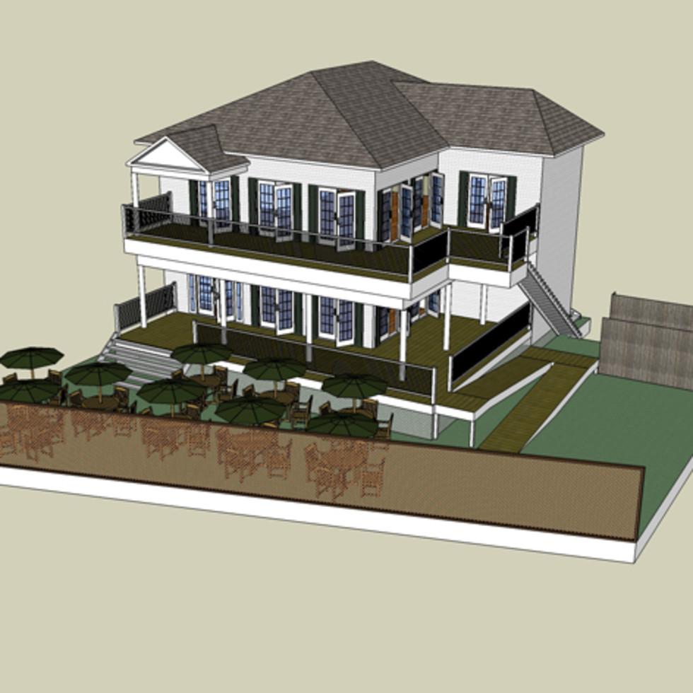 3015 Bagby rendering