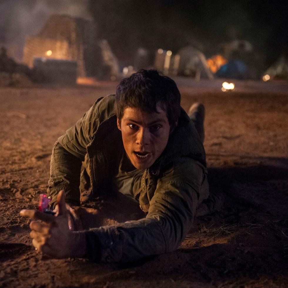 Dylan O'Brien in Maze Runner: The Scorch Trials