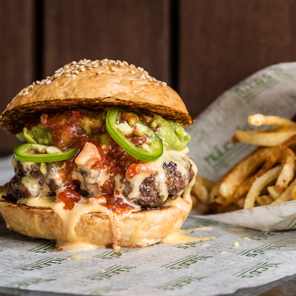 Rico's Tex Mex Burger