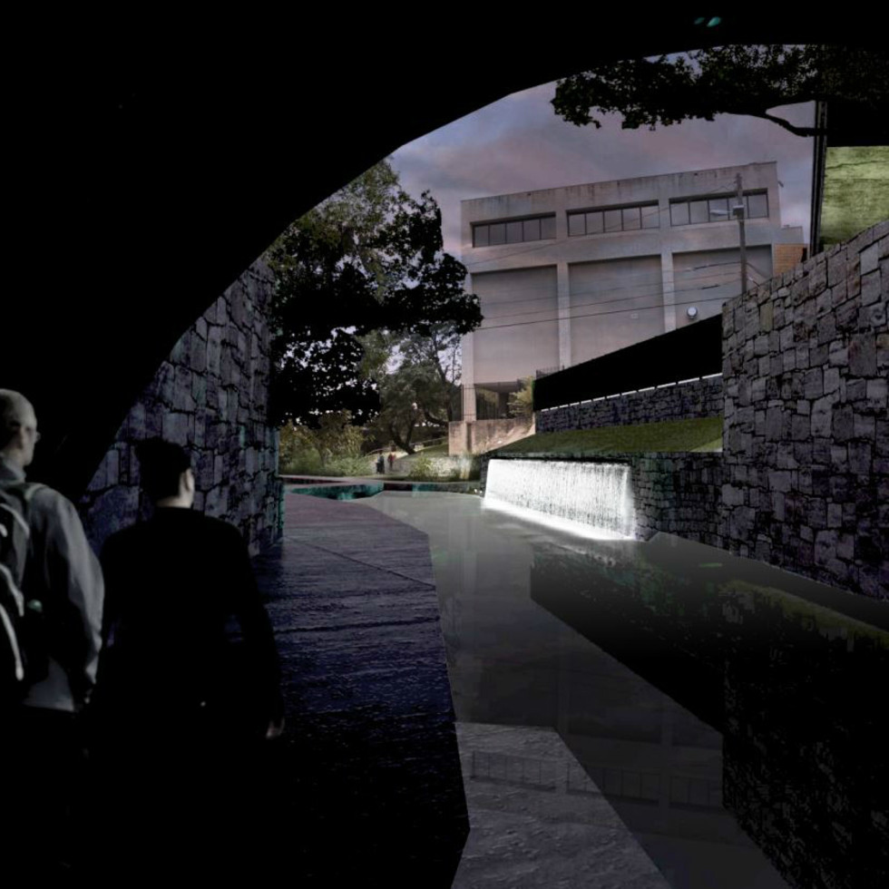 Waller Creek Show 2015 Volume Specht Harpman Architects rendering 2