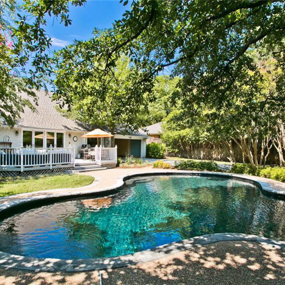 Pool at 9722 Boedecker in Dallas