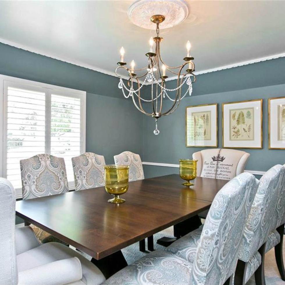 Dining room at 9722 Boedecker in Dallas