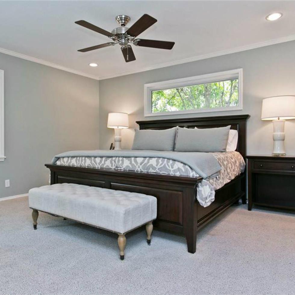 Master bedroom at 9722 Boedecker in Dallas