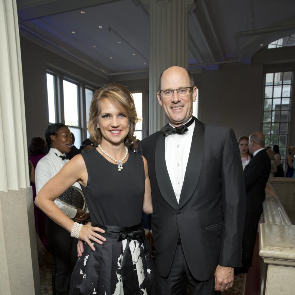 News, Shelby, Houston Symphony Opening Night, Sept. 2015. Alie Pruner, Dave Pruner