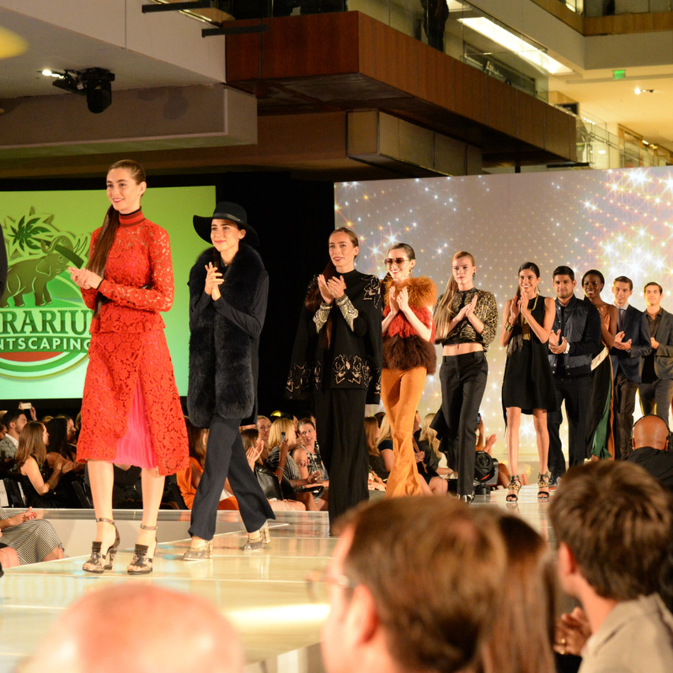 Houston, Vogue Simon Fashion Show, September 2015, models