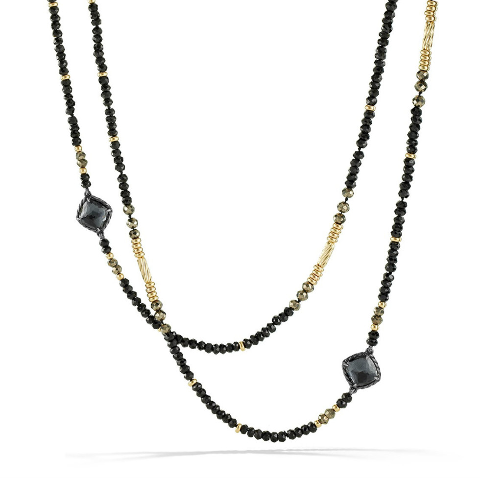 David Yurman Midnight Ice collection necklace