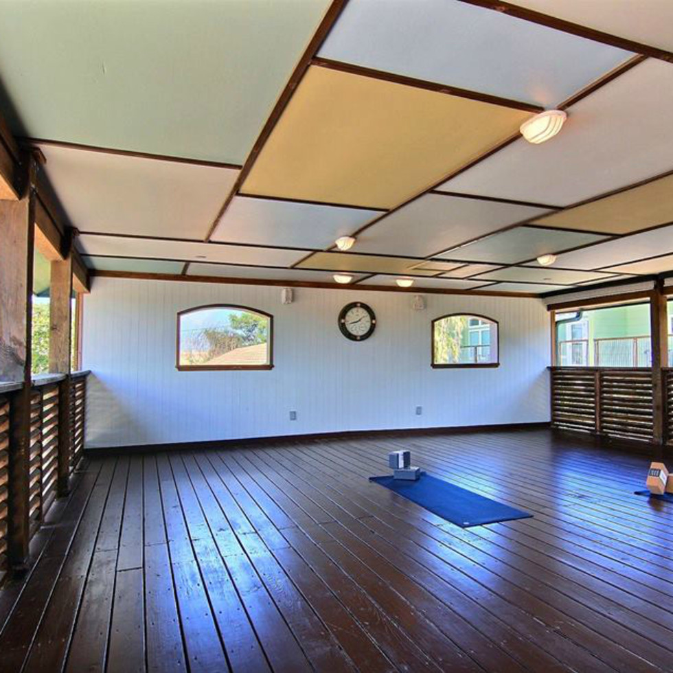 Balinese Wellness Spa Port Aransas retreat yoga deck