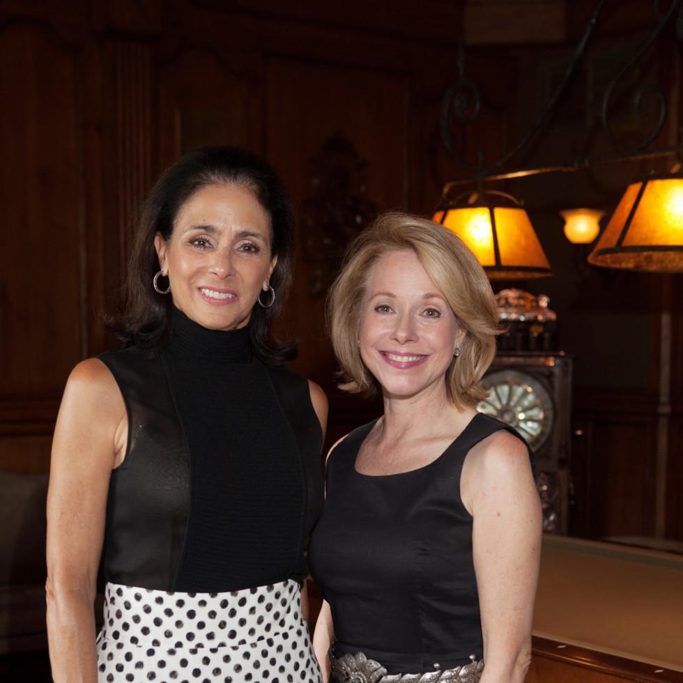 Houston, St. Luke's Foundation Summer Speaker Series Aspen, August 2015, Sylvie Crum, Janet Tallerine