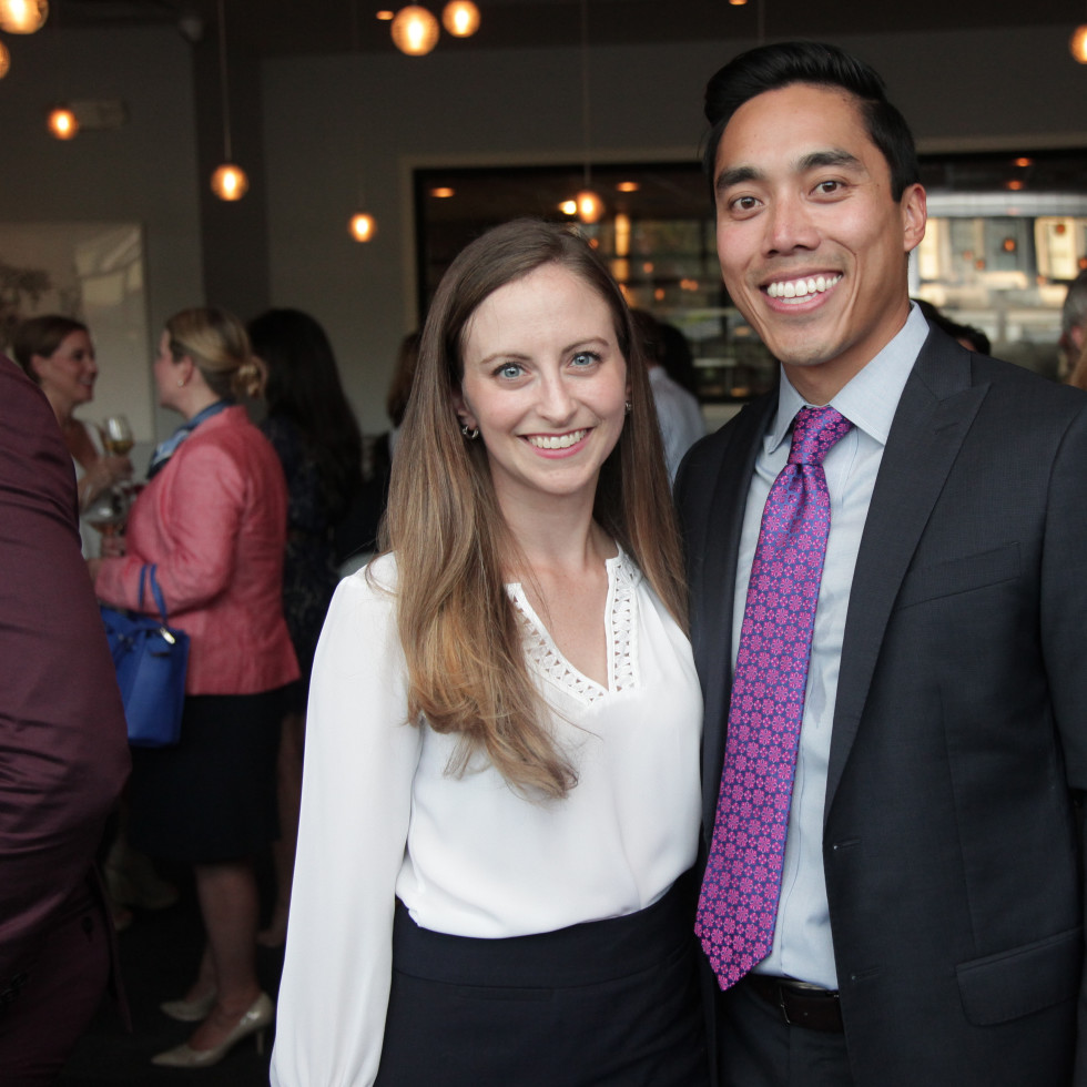 Chris Brown 40th Birthday Allison Griest and Francis Lim