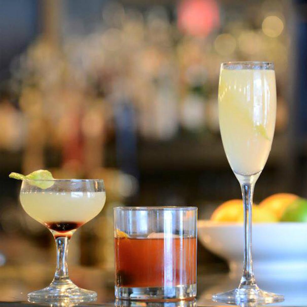 Littlle Barrel and Brown Austin restaurant cocktails