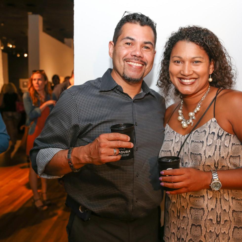 CultureMap Austin Art + Tequila at Mexic-Arte Museum Milton Lopez Roslyn Jones