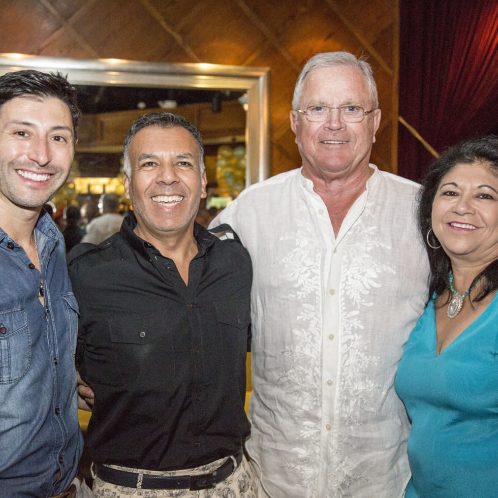 News, Shelby, Legacy Mint Julep party, July 2015, Jorge Cantu Landry, Tony Bravo, Richard Werner, Jani Lopez
