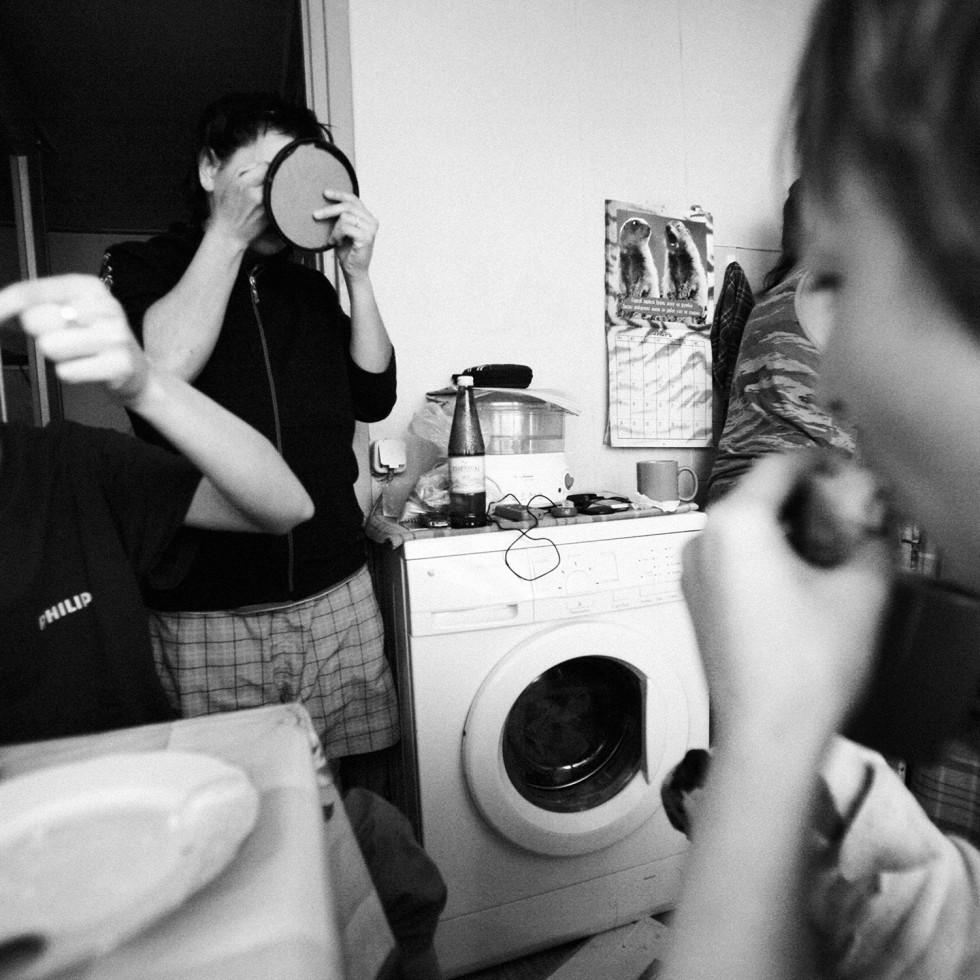 FotoFest Irina Popova Sunday breakfast in the communal kitchen