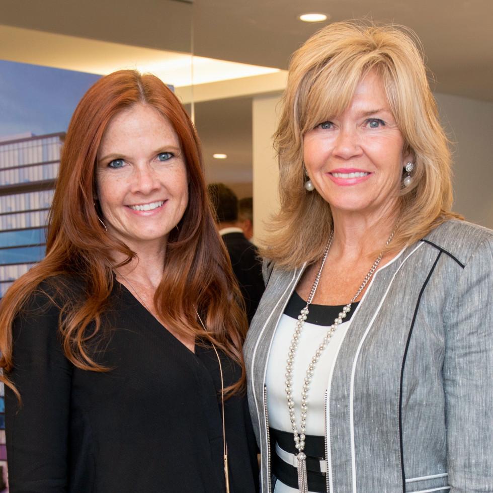 Houston, The River Oaks High Rise Preview Party, June 2015, Scotti Campbell; Jacqueline Elliott