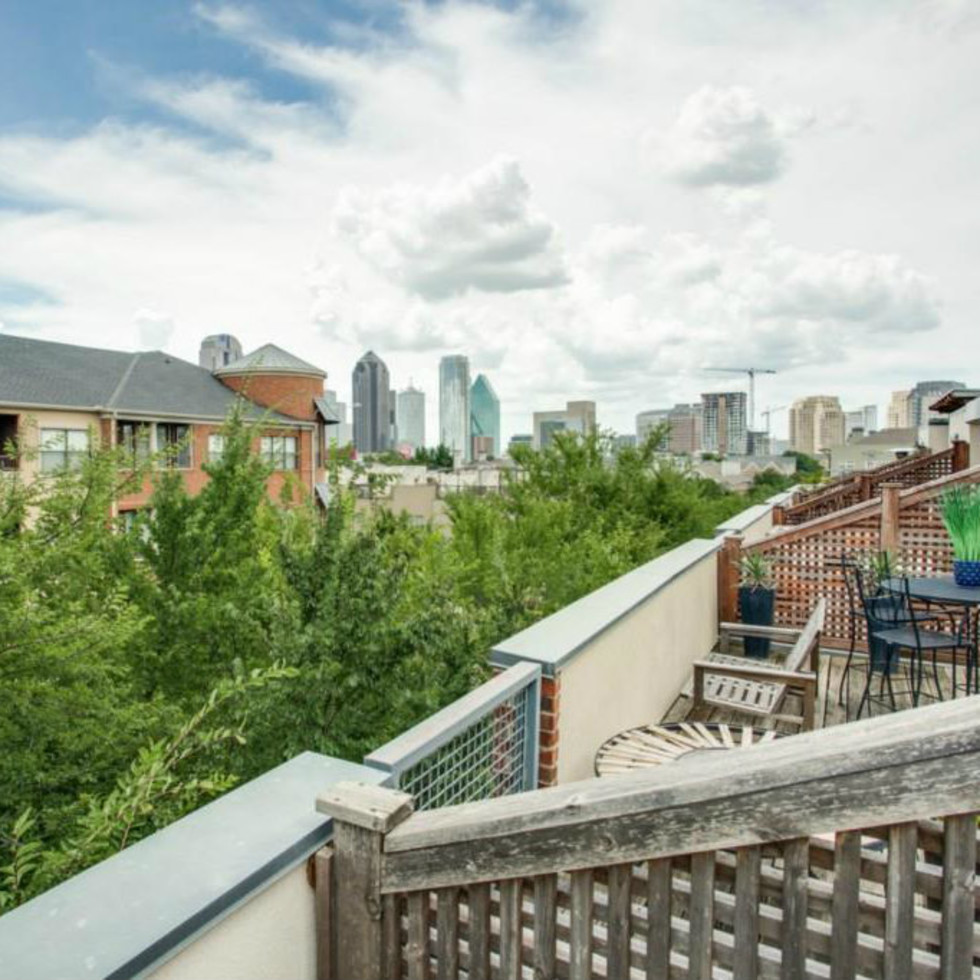 View from 3009 State St. in Dallas