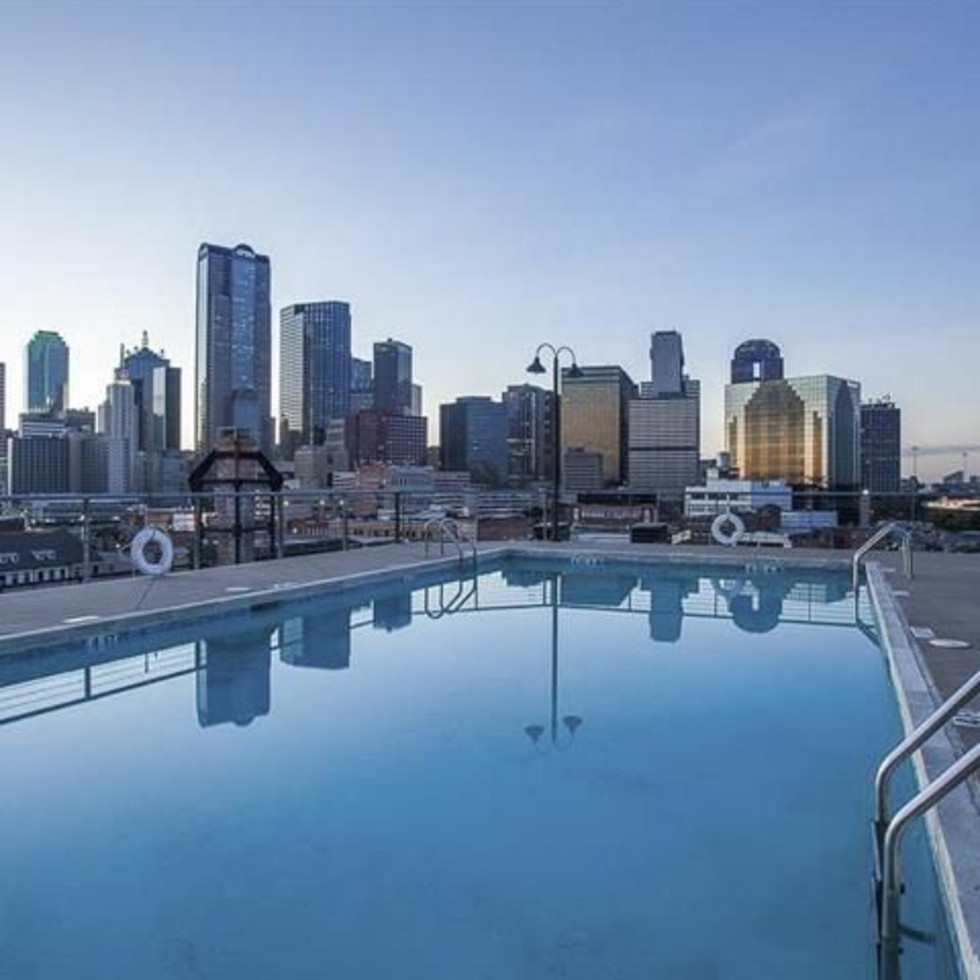Pool at 2220 Canton St. in Dallas