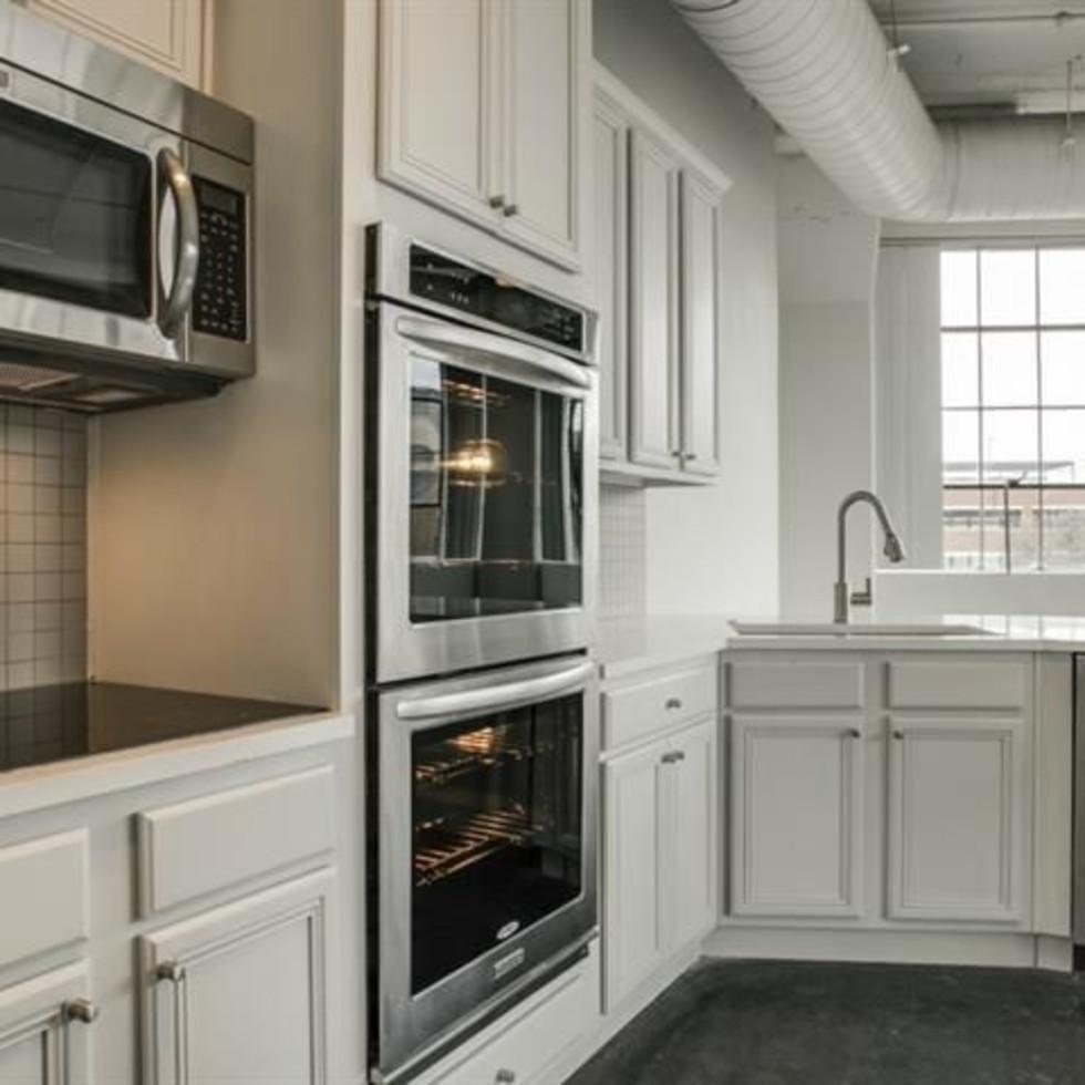 Kitchen at 2220 Canton St. in Dallas