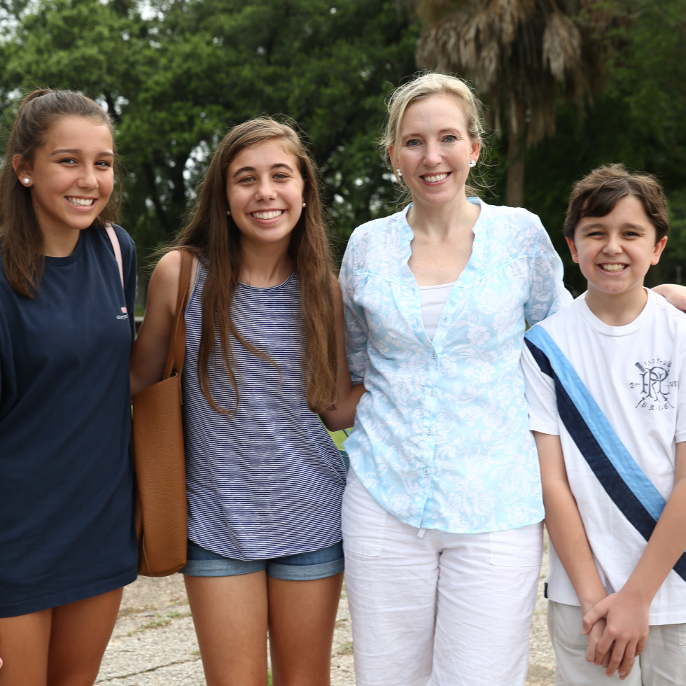 News, Shelby, Evelyn's Park Groundbreaking, june 2015, Mary Birbeck, Emma Stein, Melissa Birbeck, Charlie Birbeck