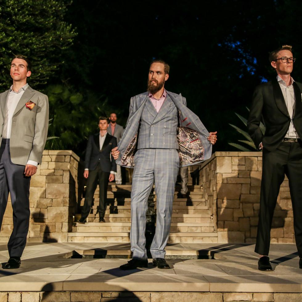 Fashion X Austin Men's Event 2015 Ross Bennett