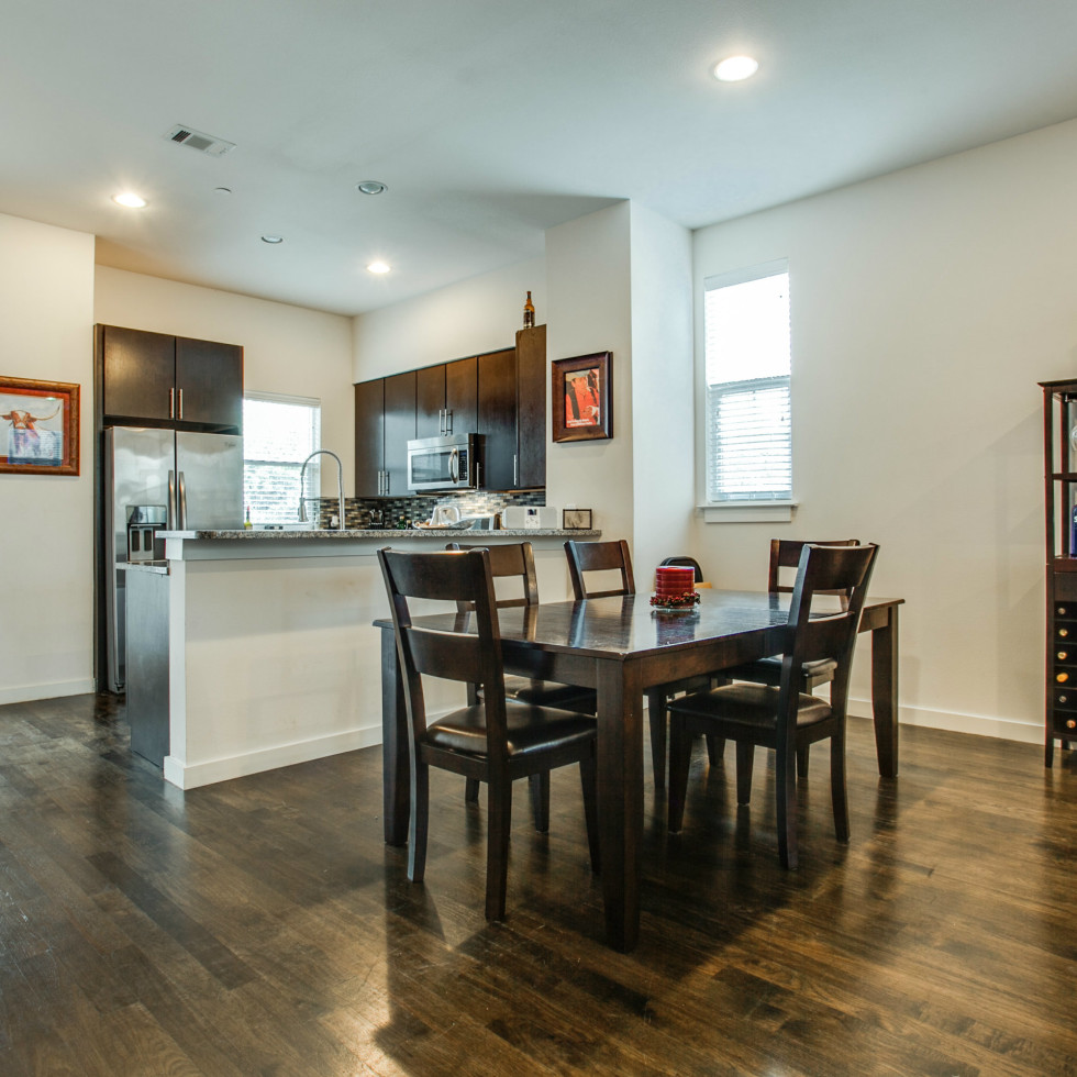 3200 Ross Ave in Dallas dining room