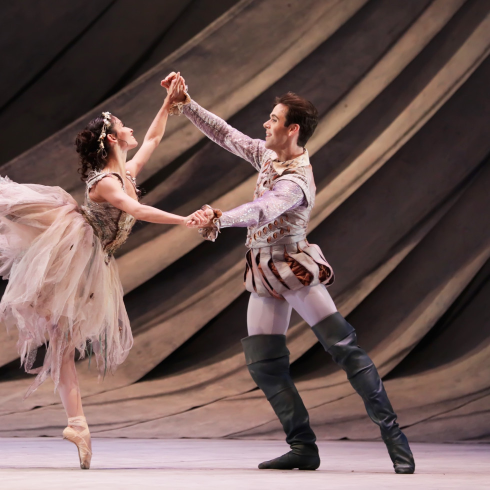 Karina Gonzalez and Connor Walsh at Houston Ballet The Tempest