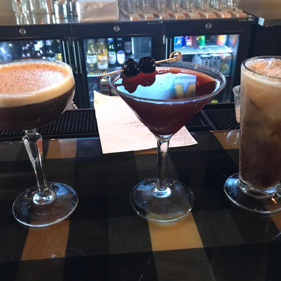 Harold's Tap Room breakfast cocktails