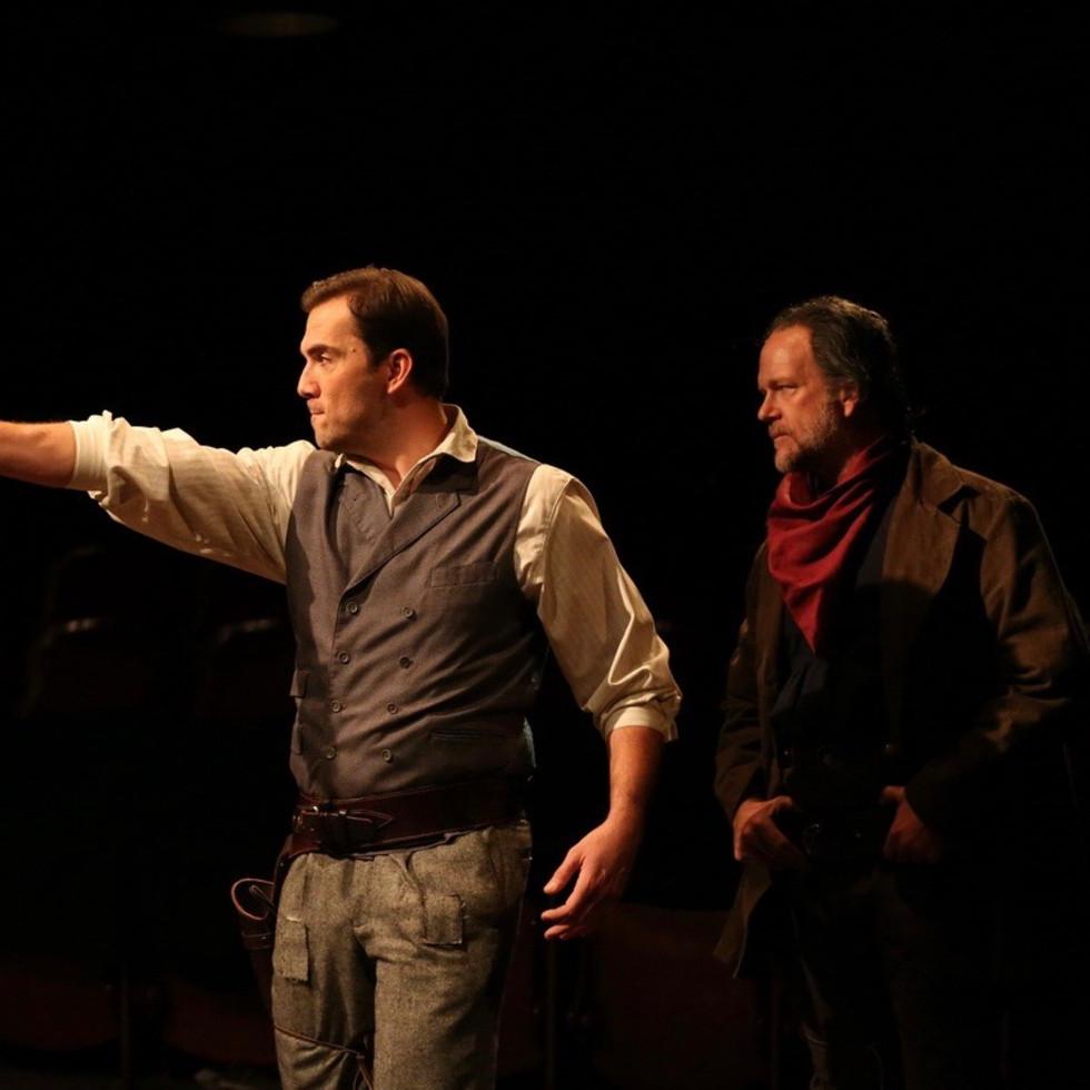 Stages Theatre-Man Who Shot Liberty Valance (David Matranga and Josh Morrison)