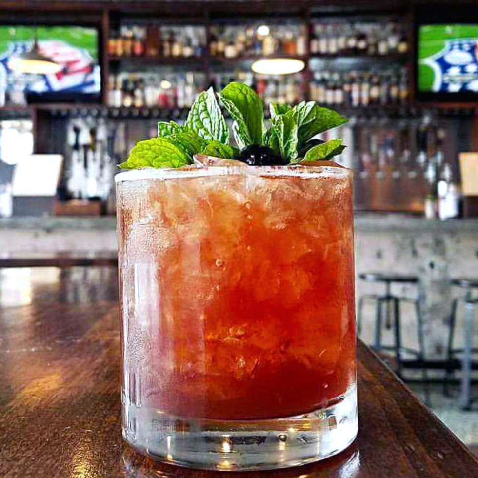 Houston, new happy hour deals, June 2017, Woosters Garden, friend zone cocktail