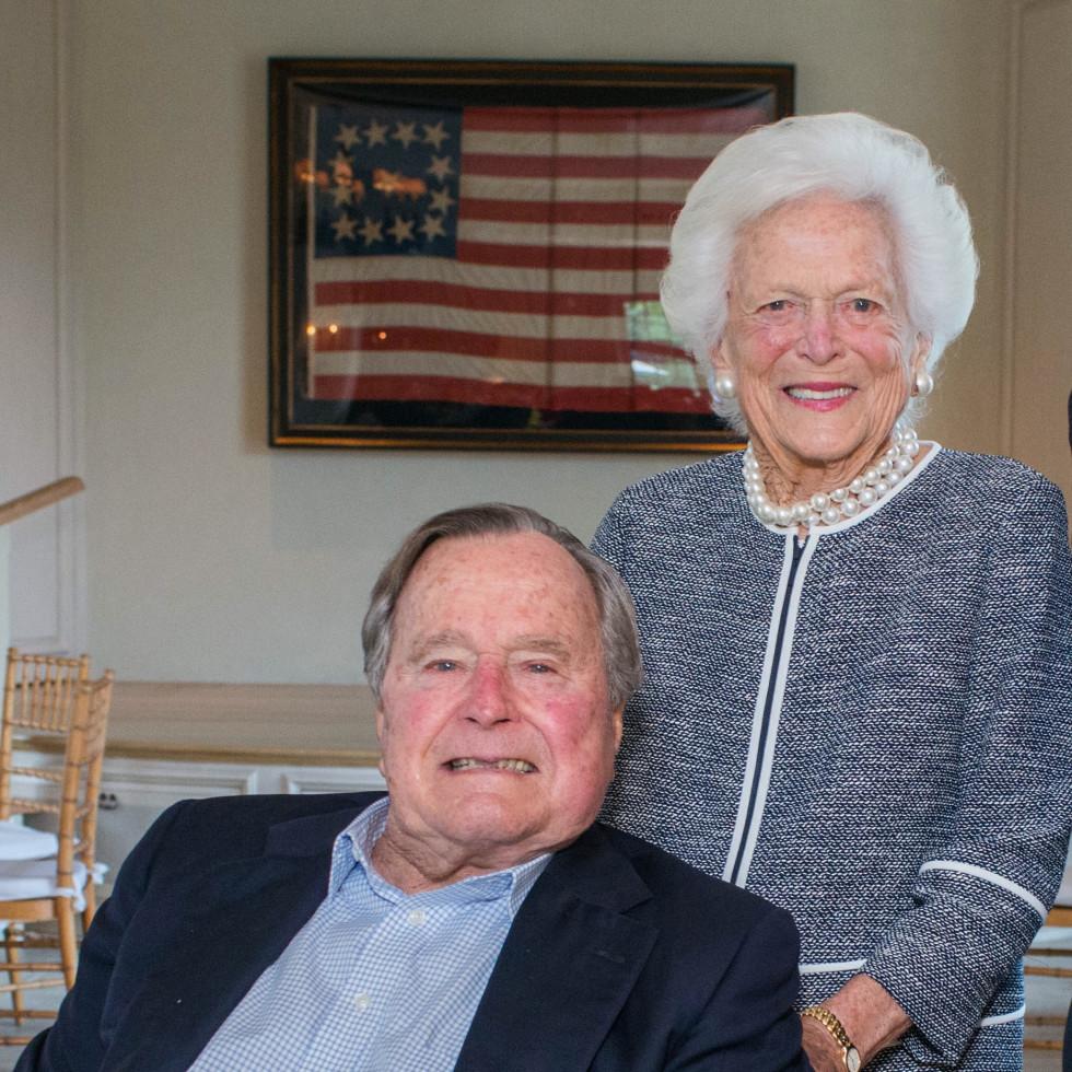 Barbara Bush, George HW Bush