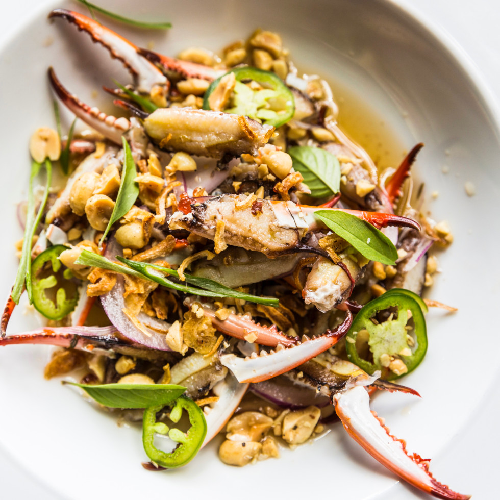 Underbelly Nuoc Cham Marinated Crab Fingers