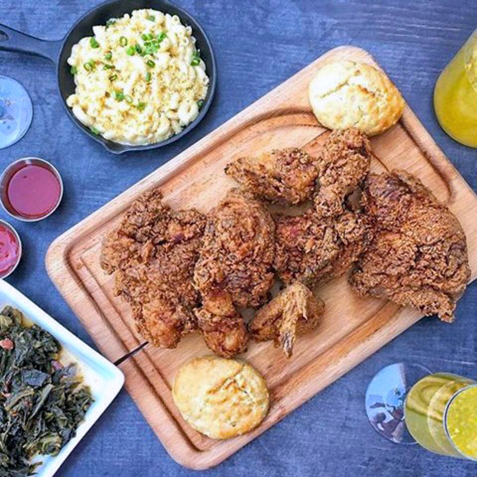 Houston, fried chicken, July 2017, Kitchen 713