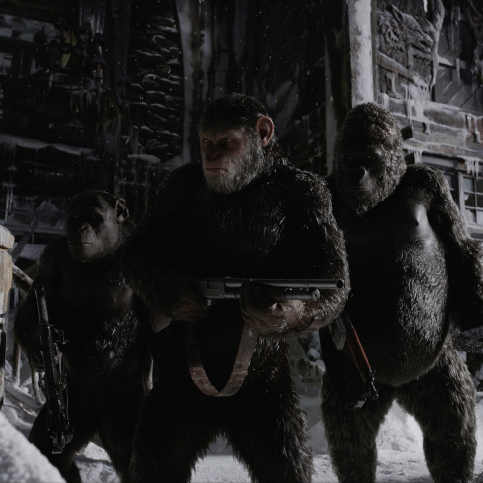 Andy Serkis as Caesar in War for the Planet of the Apes