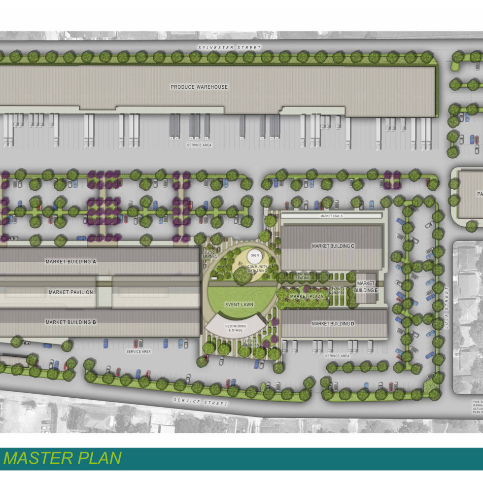 Houston Farmers Market site plan