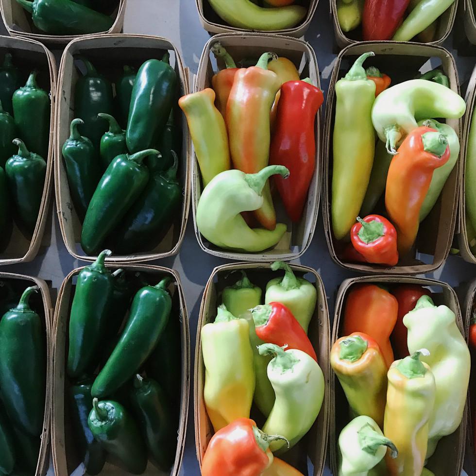Dallas Farmers Market summer produce