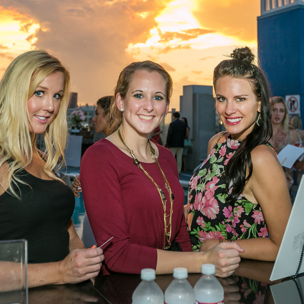 CultureMap Country Club Social, Kristen Beasley, Laura Sealy, Danielle Kuban-Johnston
