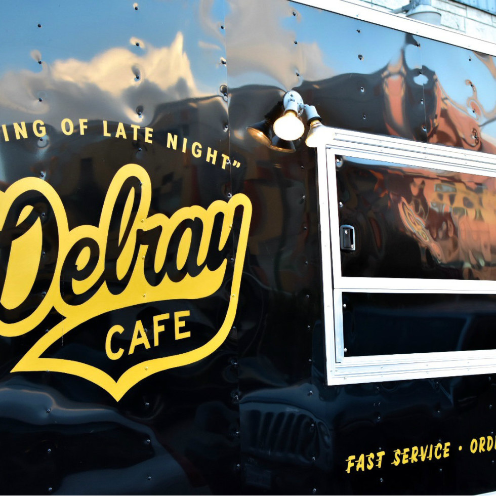 Delray Cafe food truck at Nickel City