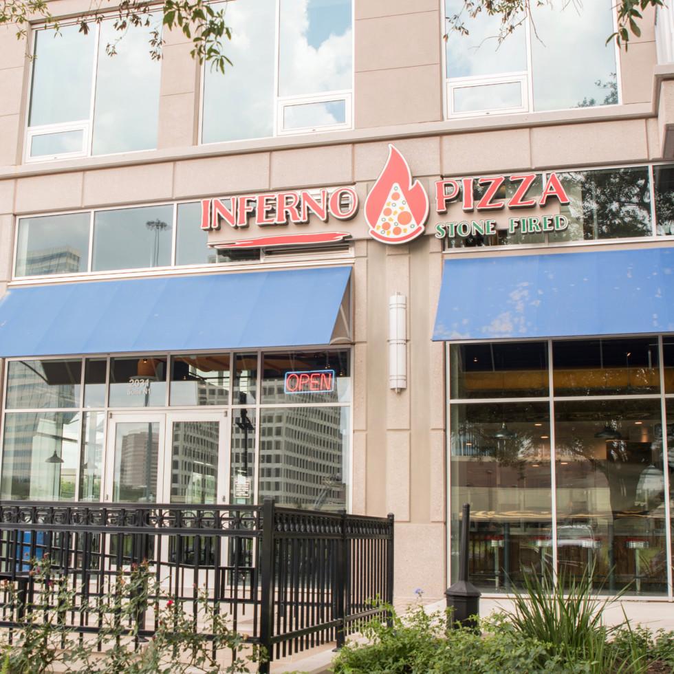 Inferno pizza exterior