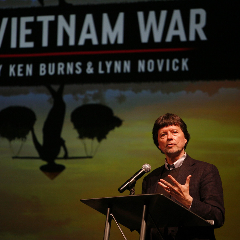 Ken Burns discusses The Vietnam War at Houston Public Media session