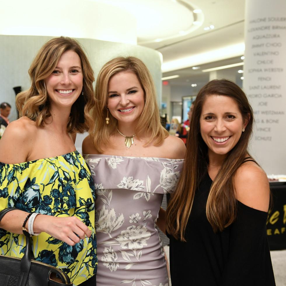 Houston, Women of Wardrobe Summer Soiree, August 2017, Marianna Corcoran, Kimberly Lombardino, Angie O'Flaherty